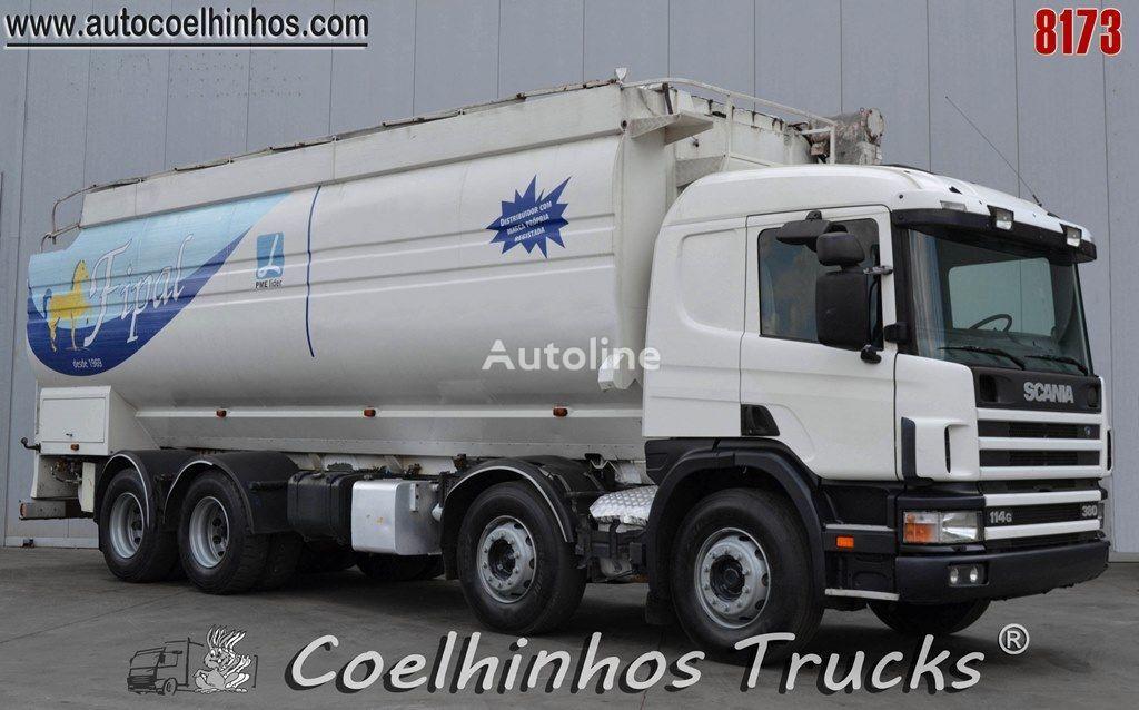 камион зърновоз SCANIA 114G 380