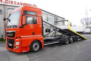 пътна помощ MAN TGX 26.440 XXL , E6 , 6X2 , NEW BODY 7,5m , hydraulic , 2x winch