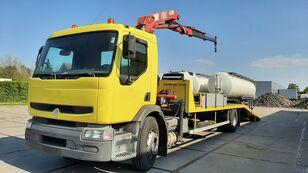пътна помощ RENAULT Premium 250.19 Crane Winch
