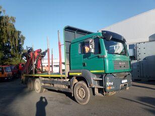 транспорт на дървесина MAN-VW TGA 33.480