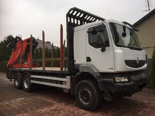 транспорт на дървесина RENAULT Kerax 450 DXI