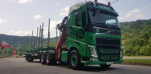 транспорт на дървесина VOLVO FH13 540 6x4 + UMIKOV