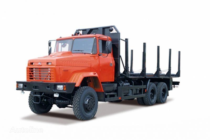 транспорт на дървесина КРАЗ 6233М6