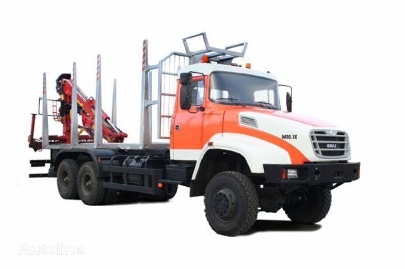 транспорт на дървесина КРАЗ М16.1Х