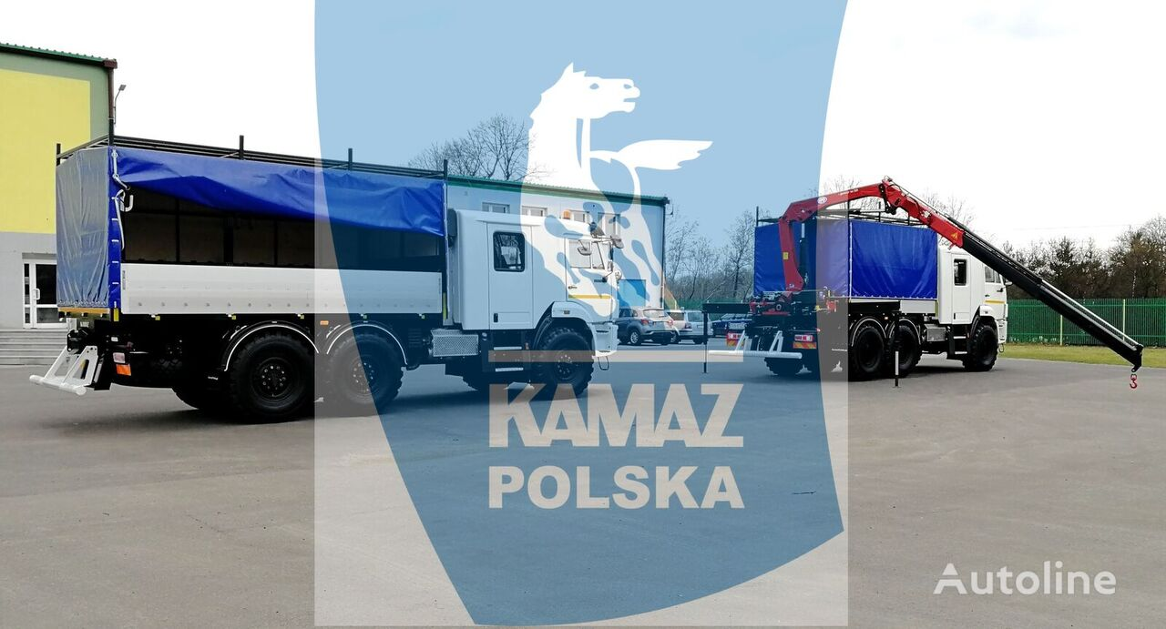 нов военен камион КАМАЗ 6x6 SERVICE CAR