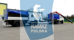 нов военен камион КАМАЗ 6x6 SERWISOWO-WARSZTATOWY