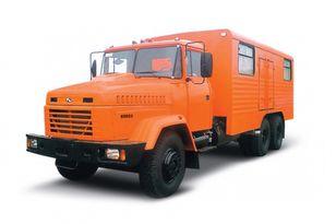 нов военен камион КРАЗ 65053 мастерская