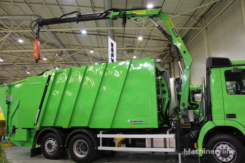 нов боклукчийски камион FAUN POWERPRESS 520