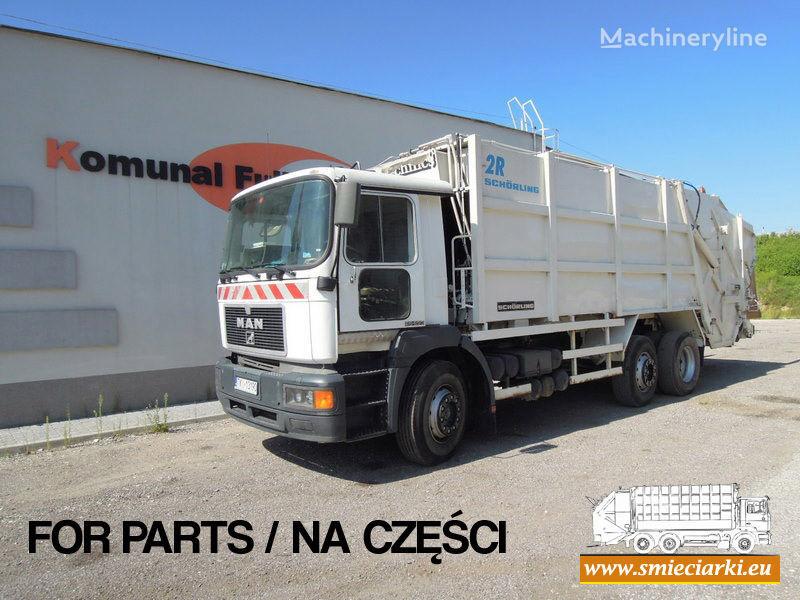 боклукчийски камион MAN 26-293