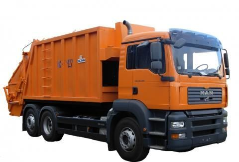 боклукчийски камион MAN KO-427-46
