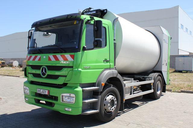 нов боклукчийски камион ВАРЗ-МВ-1823-16