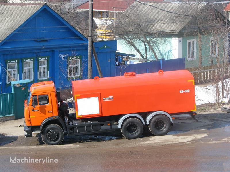 камион за отпушване на канали КАМАЗ Каналопромывочная машина КО-512