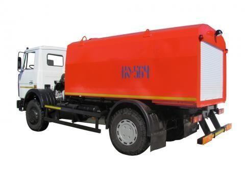 камион за отпушване на канали МАЗ КО-564-30