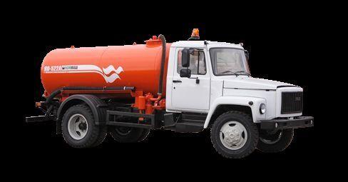 каналопочистваща машина ГАЗ Вакуумная машина КО-522Б