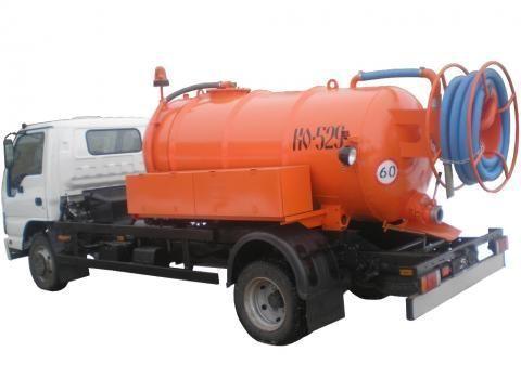 каналопочистваща машина ISUZU KO-529-10