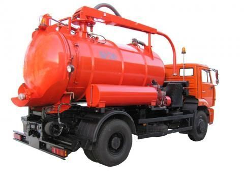 каналопочистваща машина КАМАЗ КО-530-25