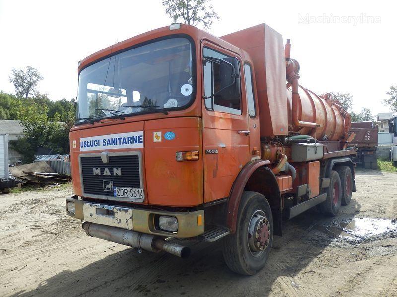 каналопочистваща машина MAN 26.240 6x6