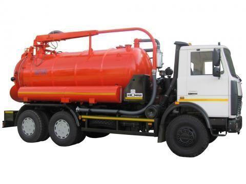 каналопочистваща машина МАЗ КО-530-05
