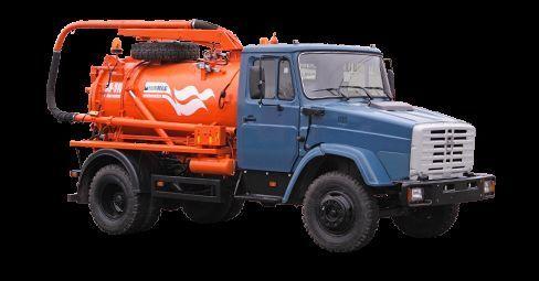 каналопочистваща машина ЗИЛ Илососная машина КО-510Д