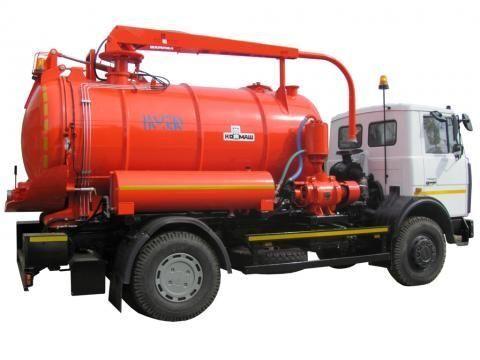 каналопочистваща машина МАЗ КО-530-21