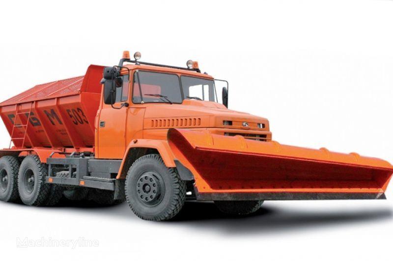 машина за опесъчаване КРАЗ 65055 МДКЗ-30
