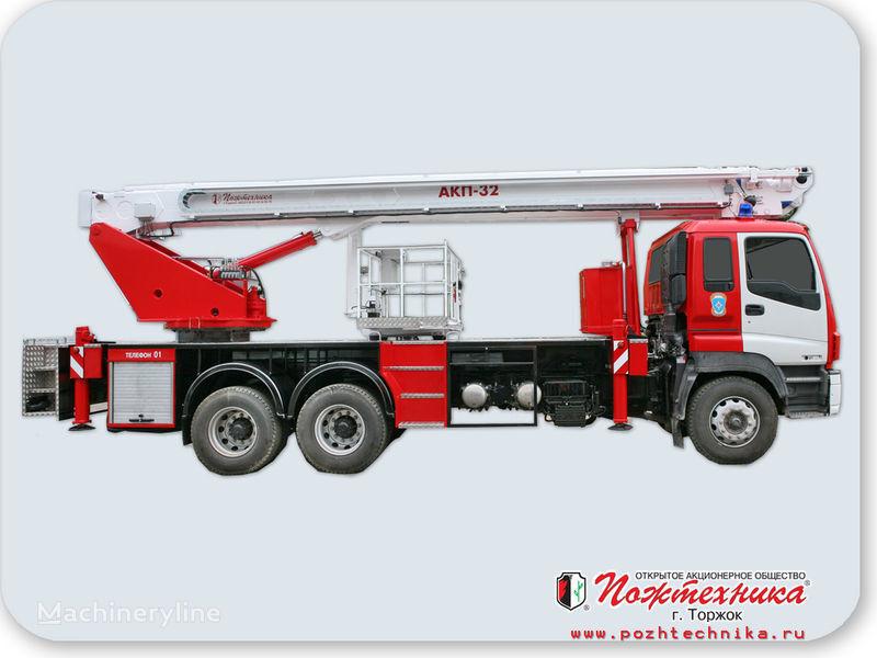 пожарна автостълба ISUZU АКП-32