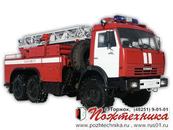 пожарна автостълба КАМАЗ АЦЛ-3-40/17
