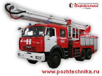 пожарна автостълба КАМАЗ АЦПК-2,0-40/100-24