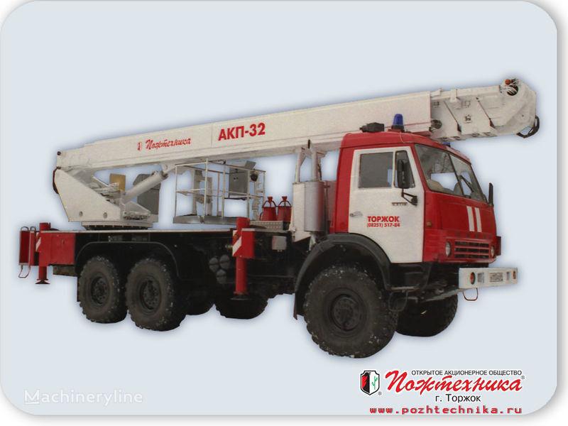 пожарна автостълба КАМАЗ АКП-32