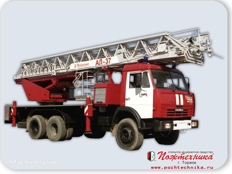 пожарна автостълба КАМАЗ АЛ-37