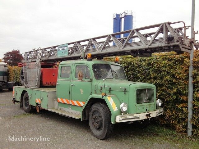 пожарна автостълба MAGIRUS Deutz Drehleiter DL 30 KHD 150 PS Jupiter