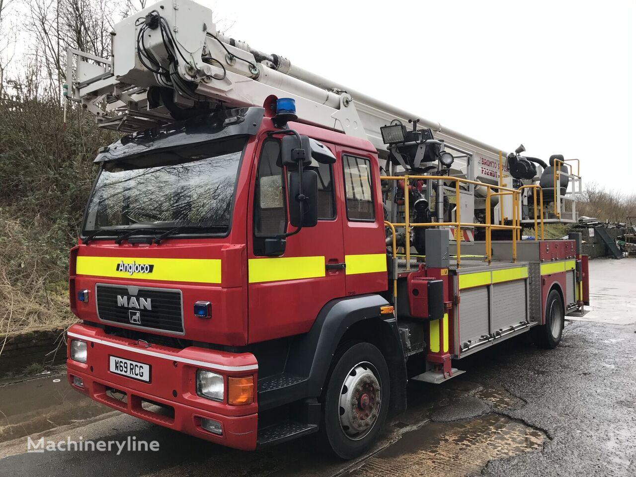 пожарна автостълба MAN F32 MDT