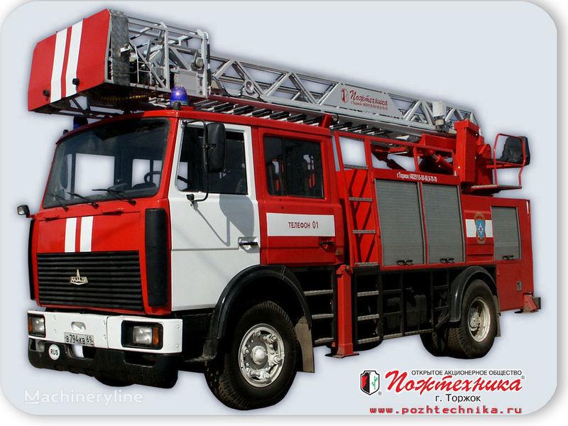 пожарна автостълба МАЗ АПС(Л)-1,25-0,8 Автомобиль пожарно-спасательный с лестницей