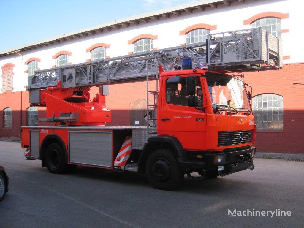 пожарна автостълба MERCEDES-BENZ 1120 F