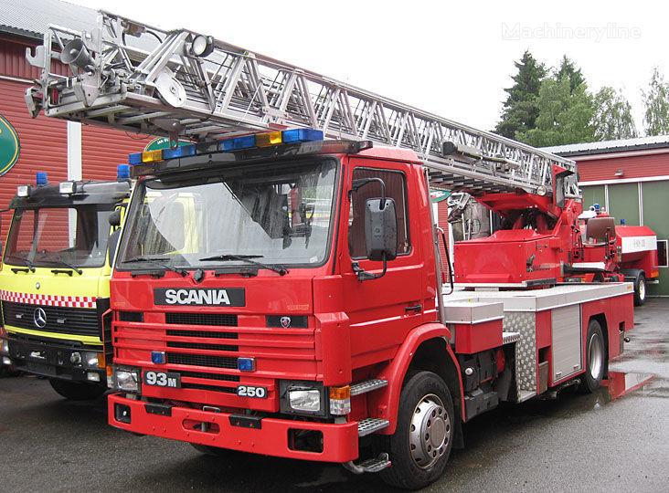 пожарна автостълба SCANIA P-93, 4x2WD