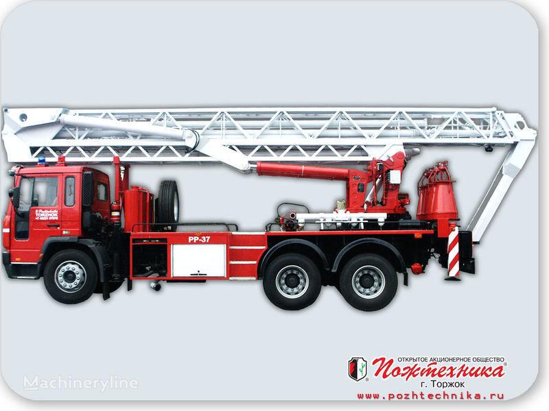 пожарна автостълба VOLVO ППП-37 Пеноподъемник пожарный