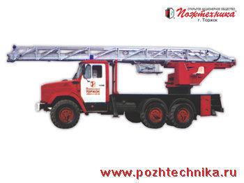 пожарна автостълба ЗИЛ АЛ-30