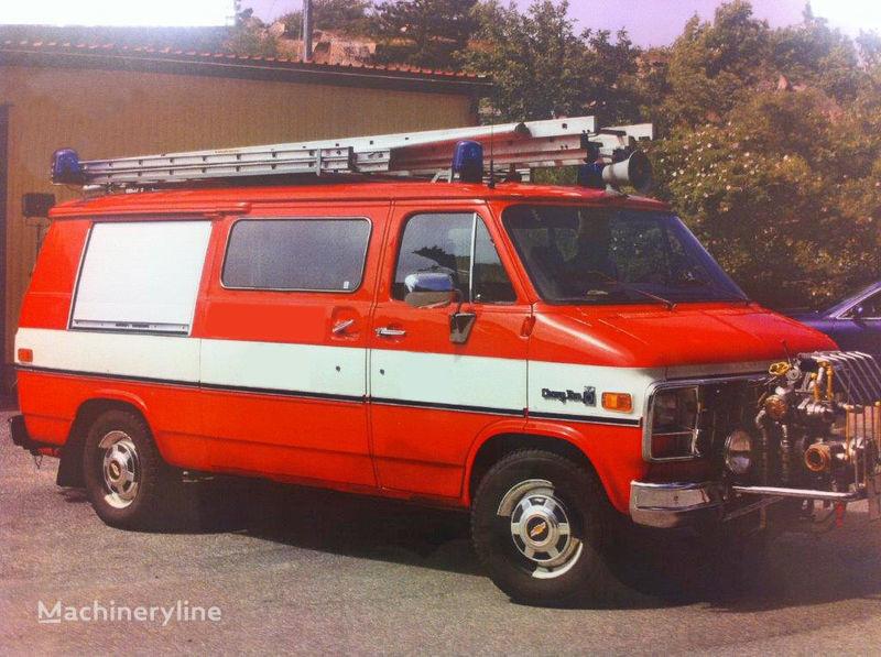 пожарна кола Chevrolet Van G-30