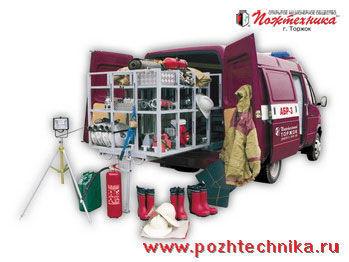 пожарна кола ГАЗ АБР-3 Автомобиль быстрого реагирования