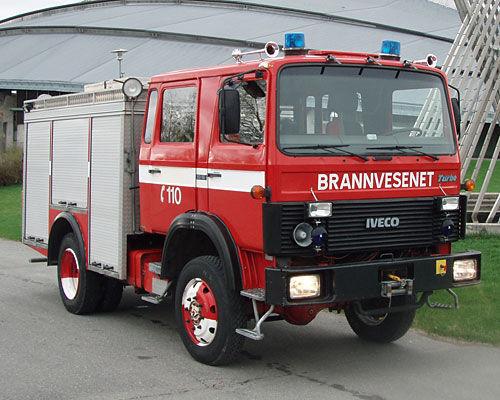 пожарна кола IVECO 80-16 4x4 WD