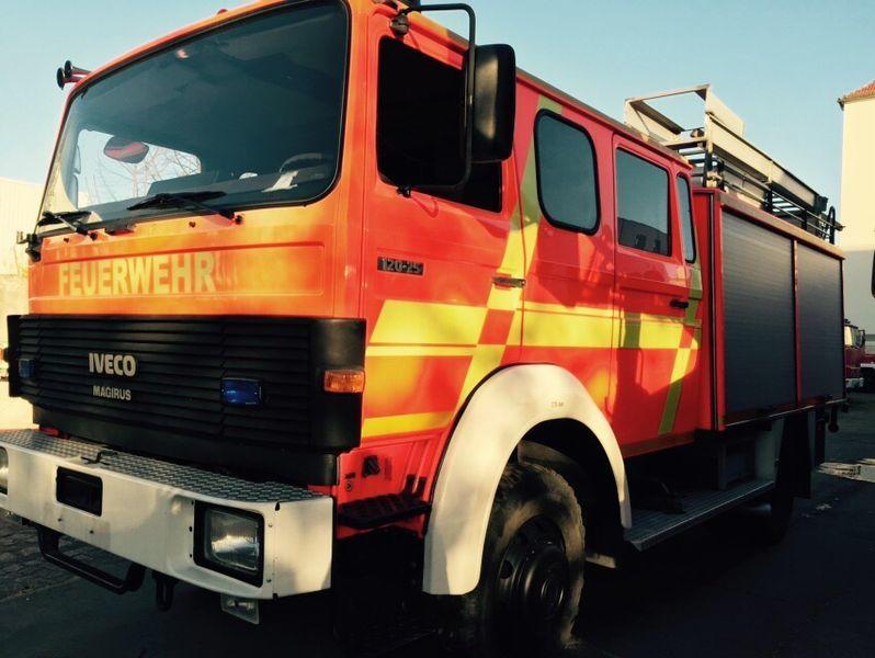 пожарна кола IVECO HLF Typ 120-25 4x4