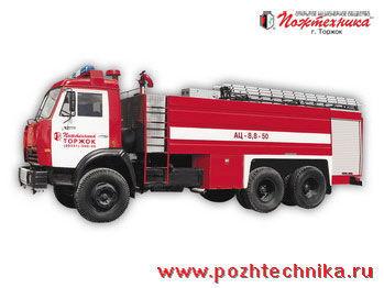 пожарна кола КАМАЗ АЦ-8,8-50
