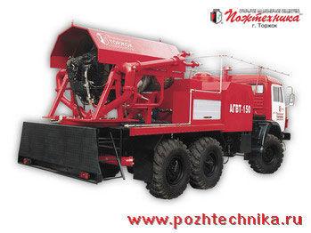 пожарна кола КАМАЗ  АГВТ-150 Автомобиль газового тушения