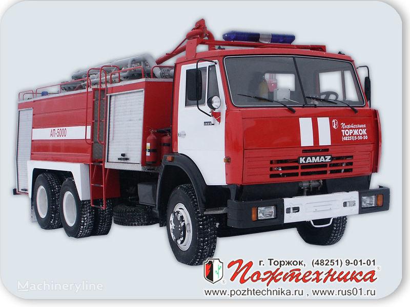пожарна кола КАМАЗ АП-5000 Автомобиль порошкового тушения