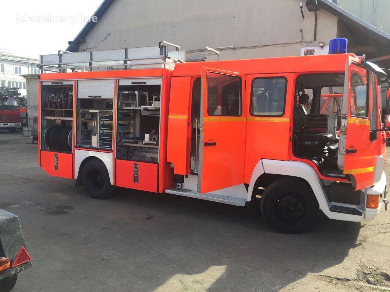 пожарна кола MAN HLF