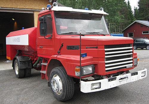 пожарна кола SCANIA T-112H