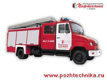 пожарна кола ЗИЛ  АЦ-1,3-4/400