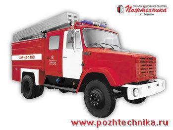 пожарна кола ЗИЛ АНР-40-1400 Автомобиль насосно-рукавный