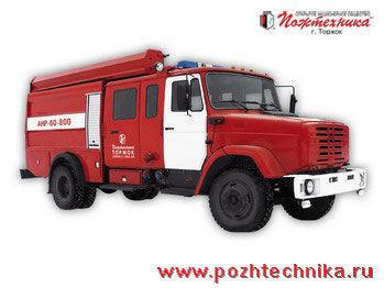 пожарна кола ЗИЛ АНР-60-800 Автомобиль насосно-рукавный