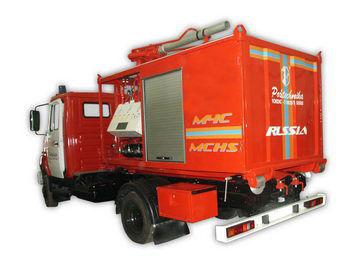 пожарна кола ЗИЛ ПСК Пожарно-спасательный комплекс с контейнерами тяжелого типа